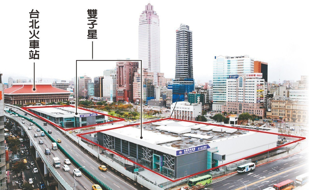 台北雙子星(台北車站特定區C1、D1)聯合開發案,由外資團隊南海發展公司與馬頓公...