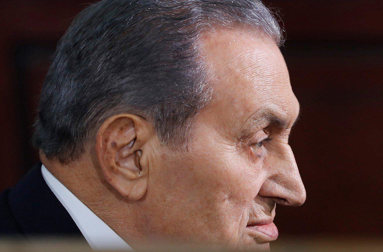 穆巴拉克(Hosni Mubarak)。 歐新社