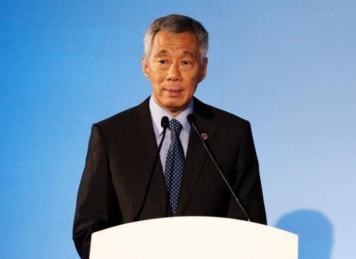 新加坡總理李顯龍。(圖/路透社)