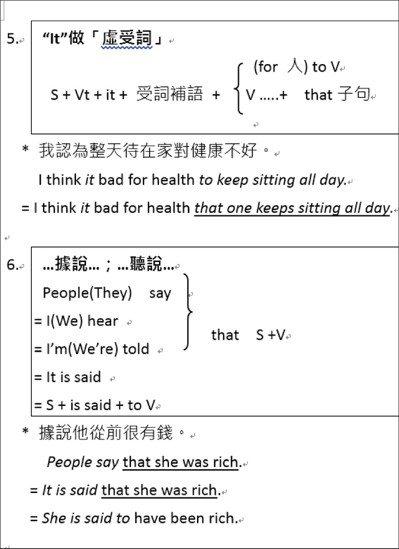 大學學測英文奪標句型Top 10(3)。圖/齊斌提供