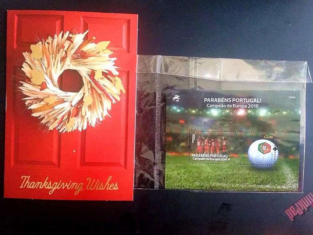 浙醫二院產科胡深醫生意外收到來自歐洲足球俱樂部的紀念禮物——一份葡萄牙奪得201...
