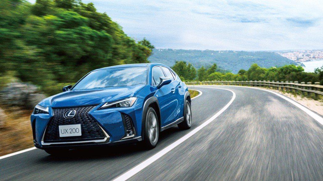 日本Lexus UX共有UX200與UX250h兩種動力版本。 摘自Lexus