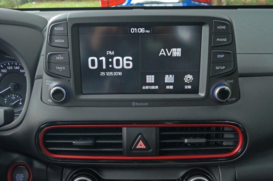 8吋觸控式多媒體螢幕,支援Apple Carply/Android Auto功能...