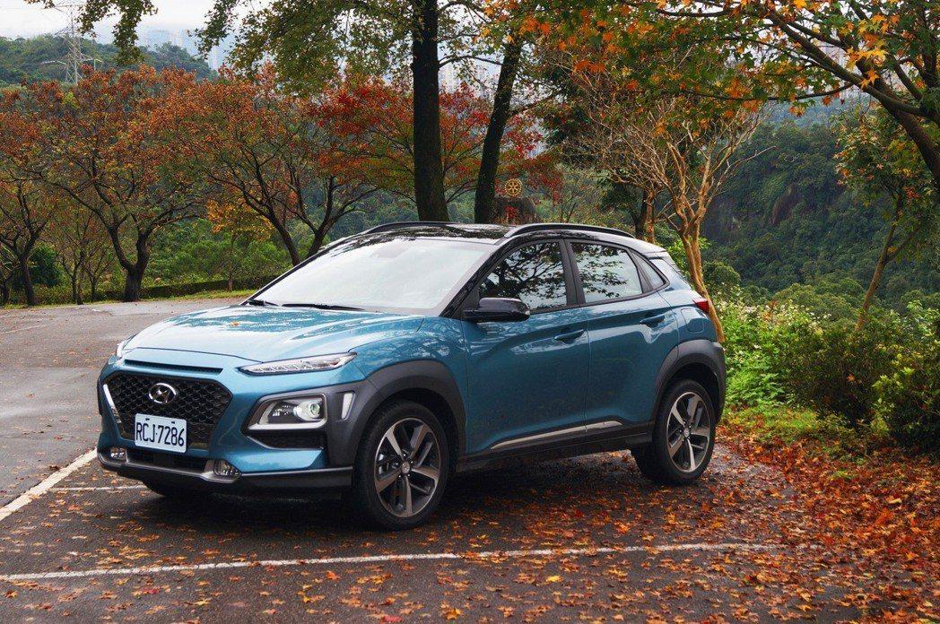 Kona的Hyundai SmartSense給駕駛最多的安全防護。 記者趙駿宏...