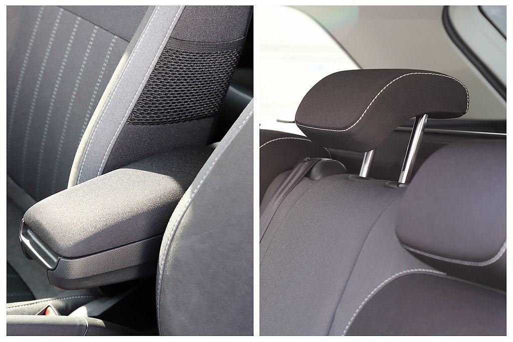 特別的是,前中央扶手和後中央頭枕則也列入魅力套件之內,表示原本就不是標配項目。 ...