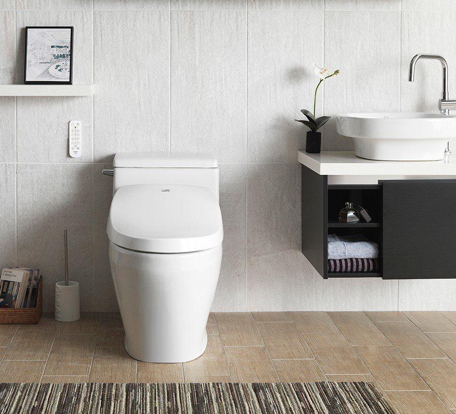 免治馬桶衛生安全疑慮潛藏漏電危險。 全家淨/提供