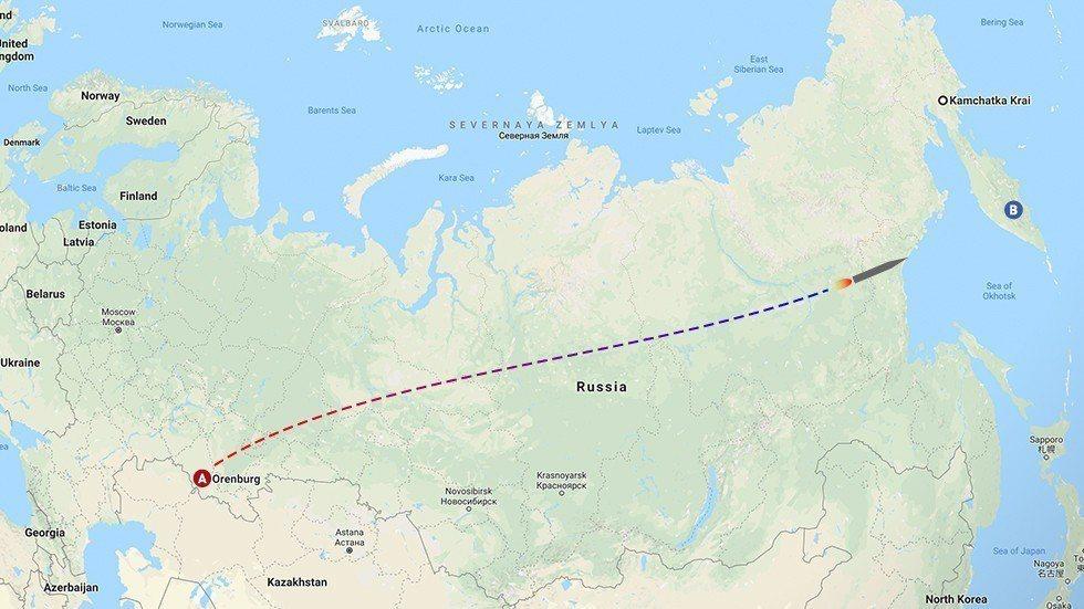 俄羅斯新型高超音速飛彈系統「先鋒」26日自俄國西南部,命中勘察加半島的靶場目標。...