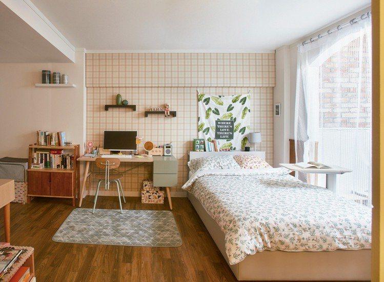 韓國iloom怡倫家居「神還原」女主角金微笑的房間。圖/統一時代百貨提供
