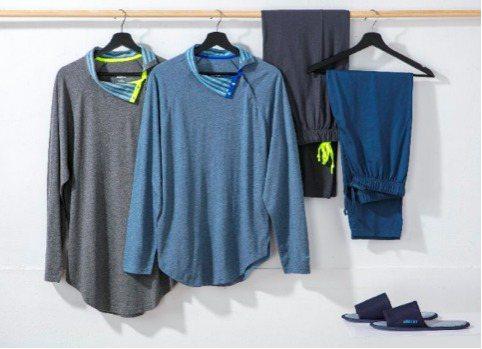 國際知名設計師吳季剛為長榮航空設計睡衣。圖/長榮航空提供