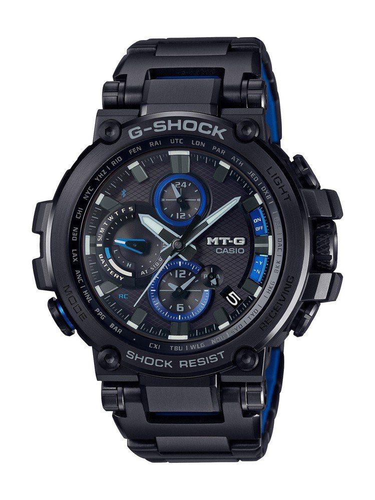 G-Shcok MT-G全新藍牙系列G-Shock GMW-B5000D-1腕表...