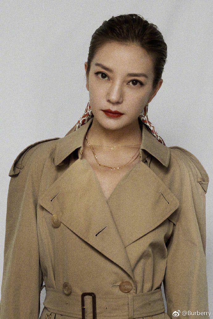 BURBERRY官方微博釋出趙薇擔當品牌代言人的訊息。圖/取自微博