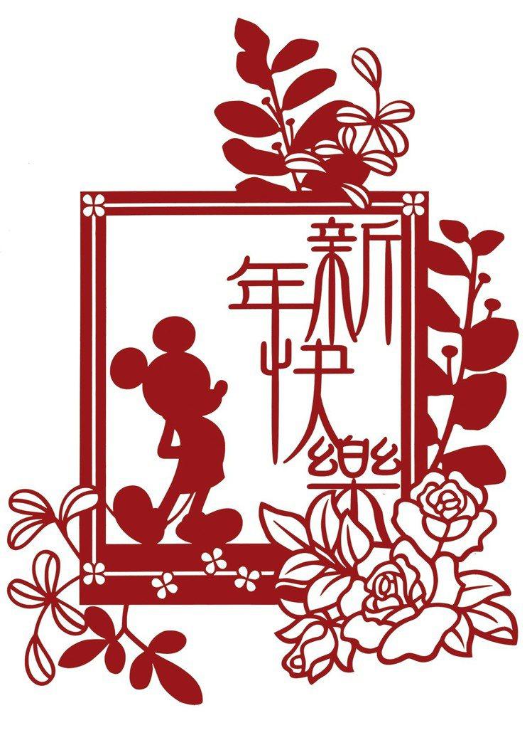 HOLA米奇系列窗花,建議售價299元。圖/HOLA提供