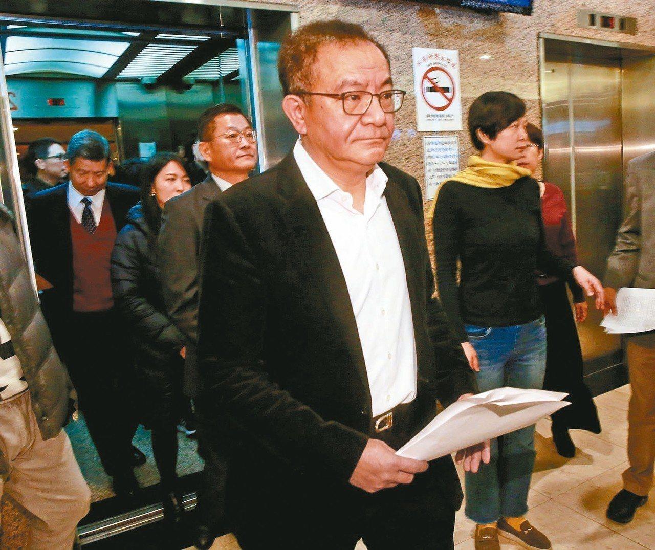 高志鵬貪汙罪定讞,他昨天表示,會提非常上訴。 記者黃義書/攝影