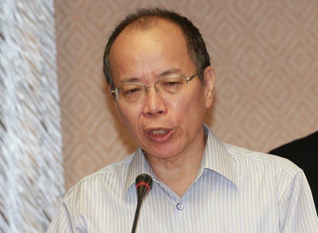 行政院政務委員張景森。 圖/聯合報系資料照片