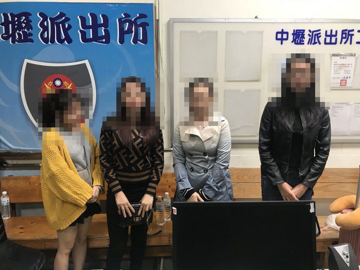 越南籍女子參加假旅遊團,事件曝光後昨天到中壢警分局投案。記者鄭國樑/翻攝