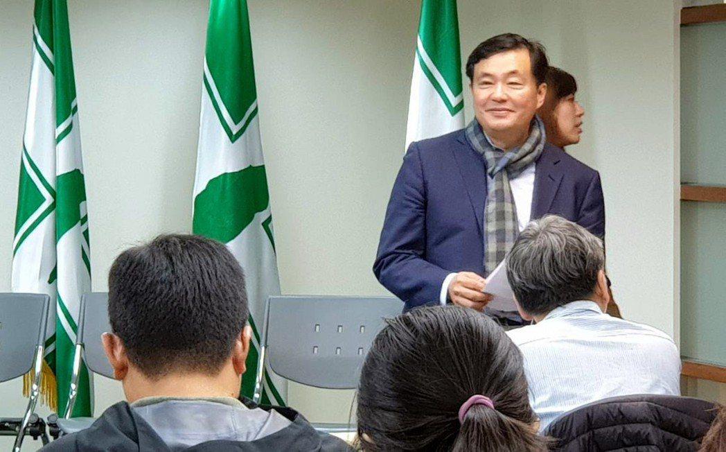 民進黨前秘書長洪耀福。圖╱聯合報系資料照片