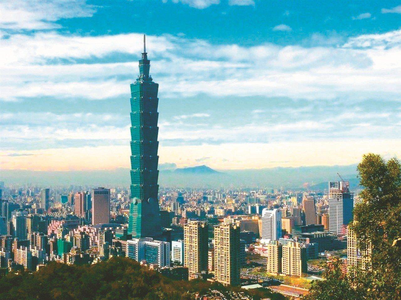 台北市公告2019年土地現值評定結果,101大樓六度蟬聯地王。圖/聯合報資料照