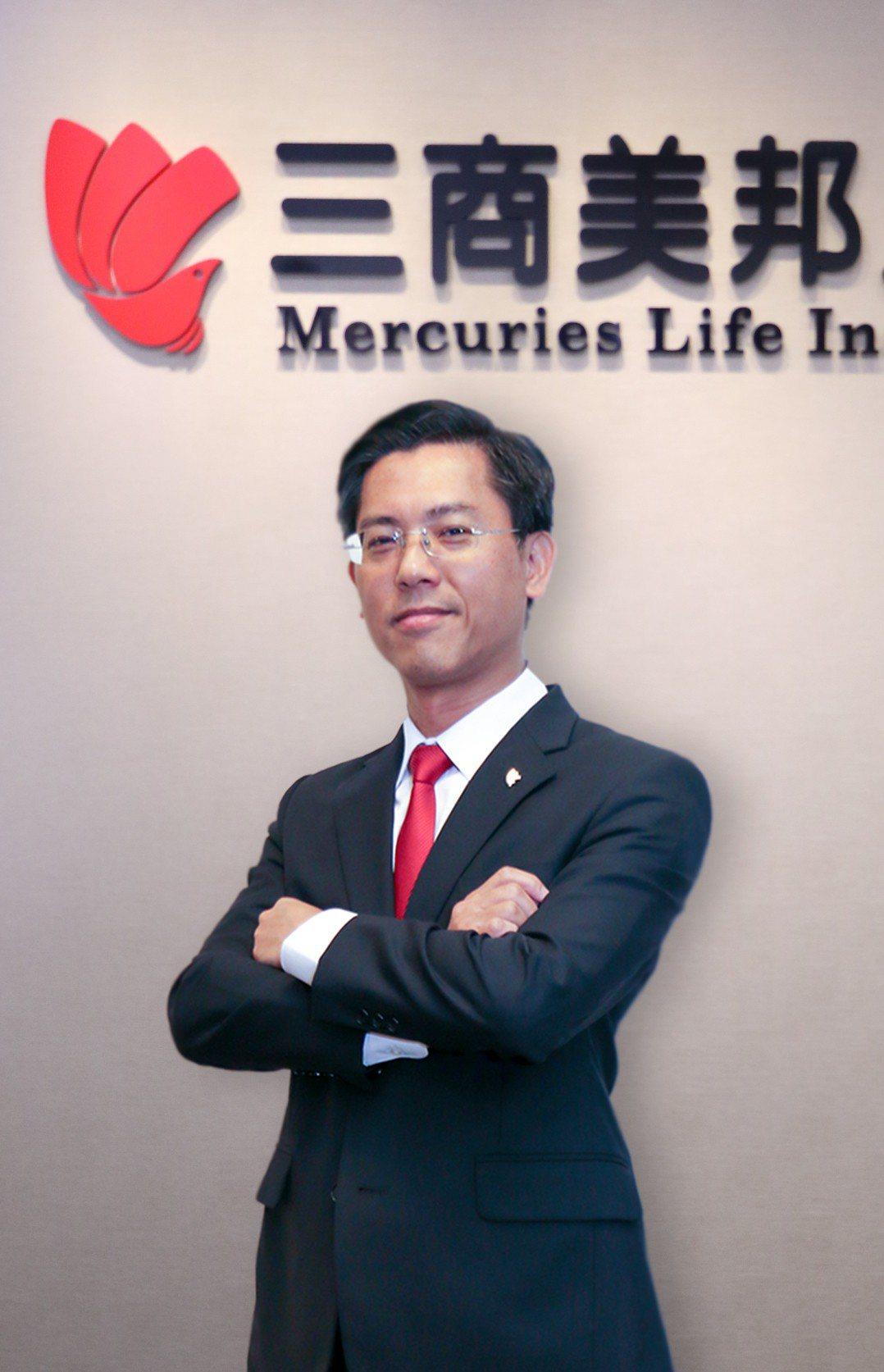三商壽財務長陳宏昇。 聯合報系資料照