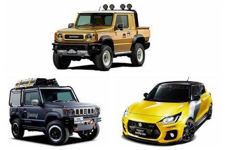 新Jimny皮卡車型現身!Suzuki東京改裝車展亮點十足