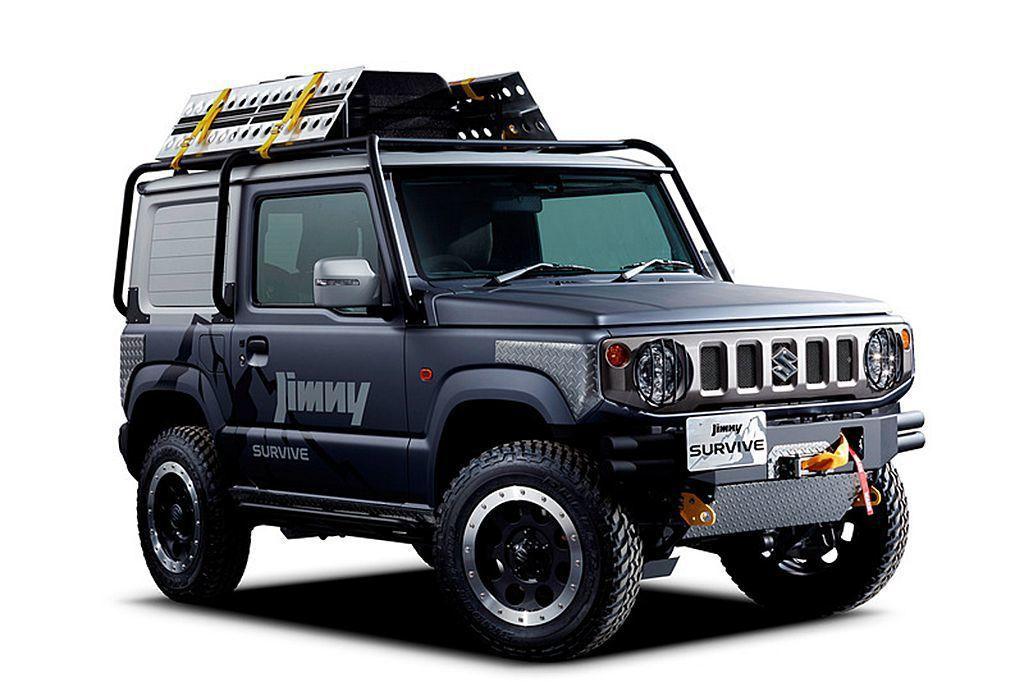 Suzuki Jimny Survive改裝概念車。 圖/Suzuki提供