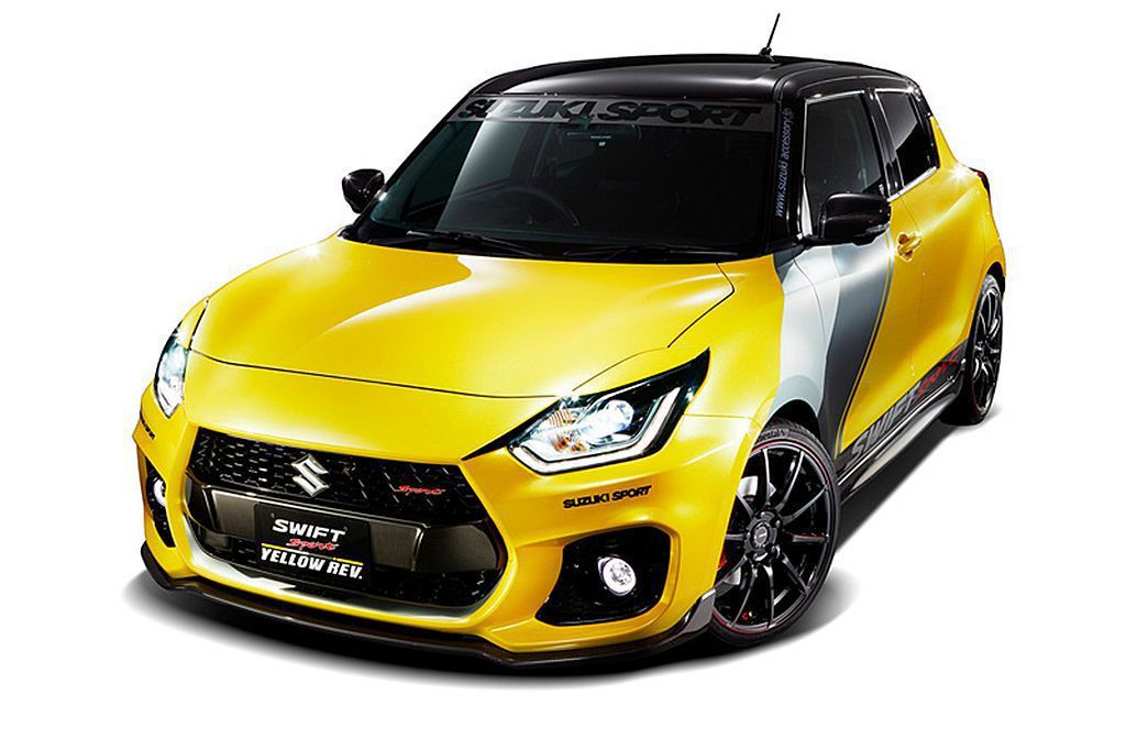 Suzuki Swift Sport Yellow Rev改裝概念車 圖/Suz...