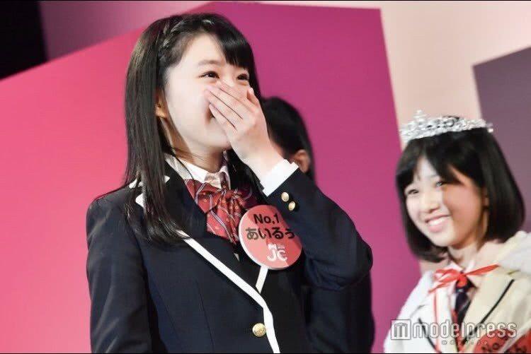 聽到冠軍是自己的名字,富本愛琉感到很震驚。圖擷自騰訊網