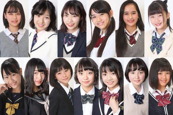日本網友吐槽,入圍的13名女孩雖然有化妝打扮過,但整體顏值都像路人般普通。圖...