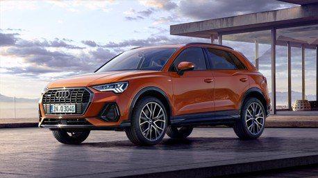 新世代Audi Q3歐洲正式上市 七種動力編成供選擇!