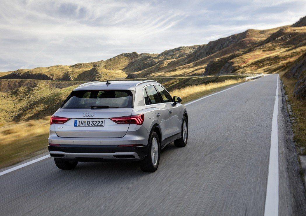 新世代Audi Q3在歐洲市場共提供了三具汽油引擎與兩具柴油引擎。 摘自Audi