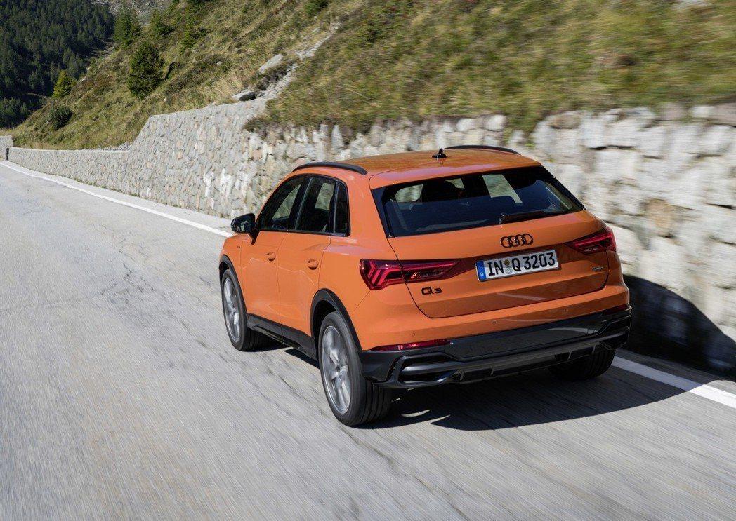 第二代Audi Q3目前已於歐洲上市。 摘自Audi