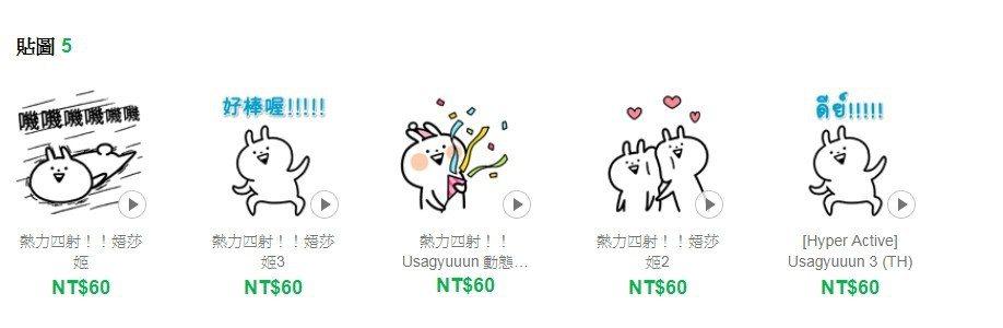 圖片來源/line store