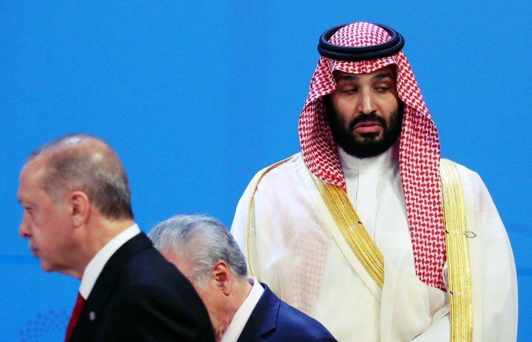 G20會前,沙烏地太子主動致電土耳其總統厄多安,希望兩人能在G20場外「當面一對...