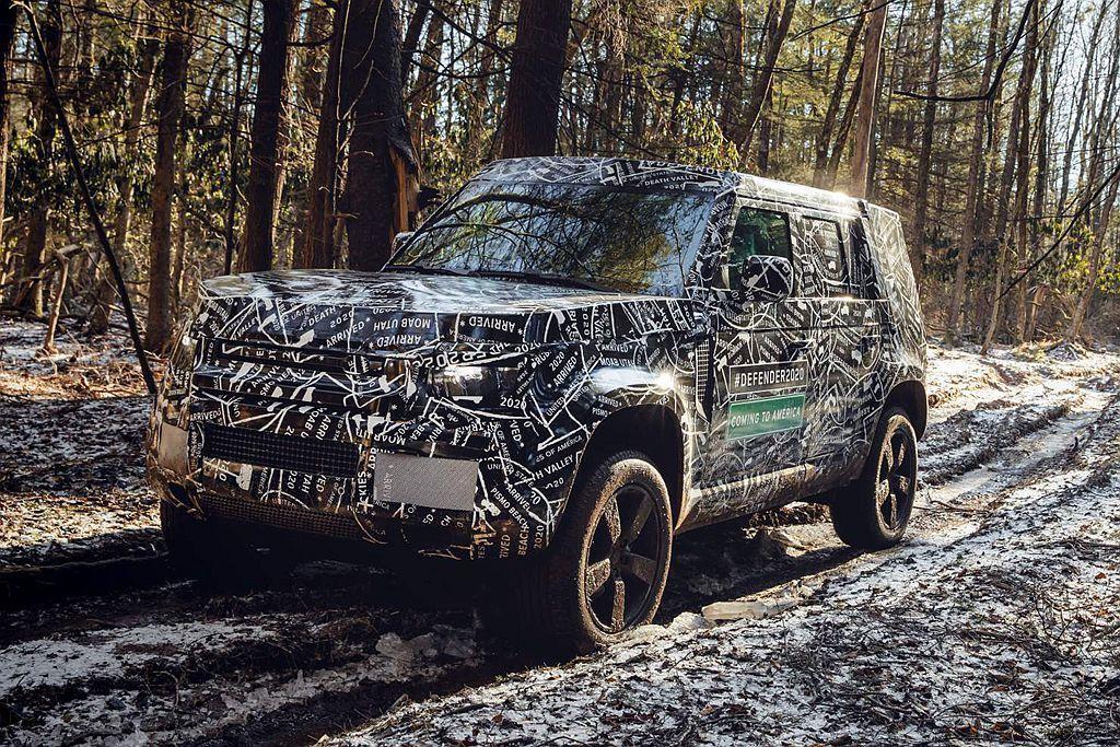 新Land Rover Defender不僅會有嶄新外貌、內裝鋪陳,且還會遵循D...