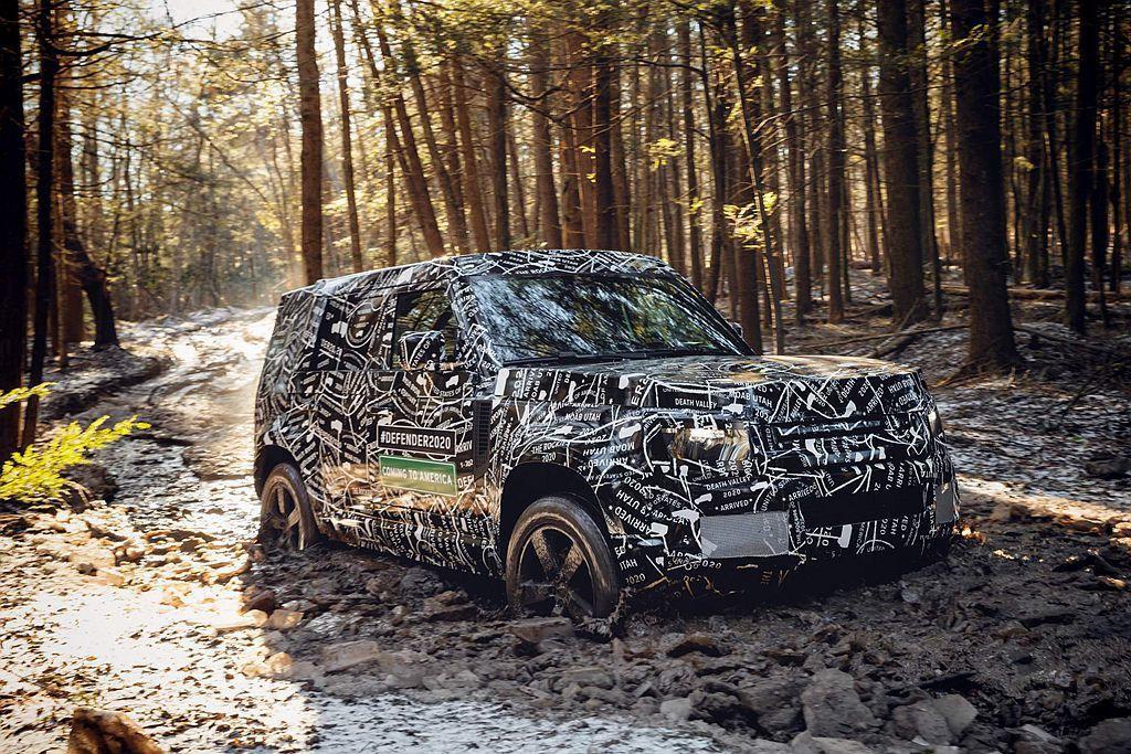 新世代Land Rover Defender接連公布更多訊息,包括將在明年發表及...