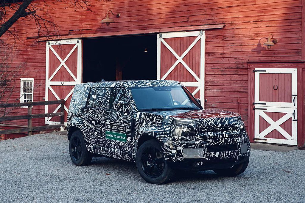 新Land Rover Defender目前仍在測試階段,但距離新車發表已經不遠...