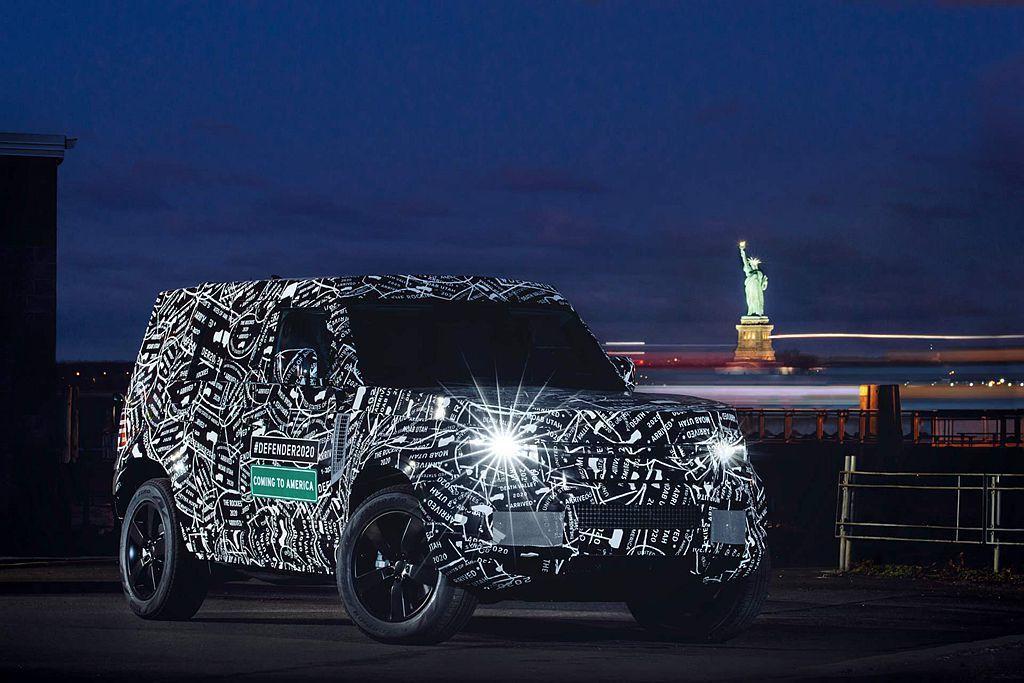 暌違21年之後,Land Rover Defender也將會以新世代車型重返北美...
