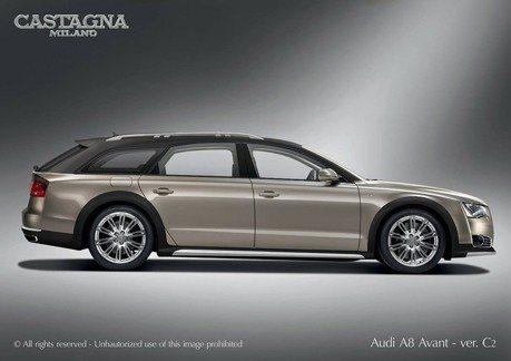 誰在打造Audi A8 Allroad越野旅行車?還搭載W12動力!