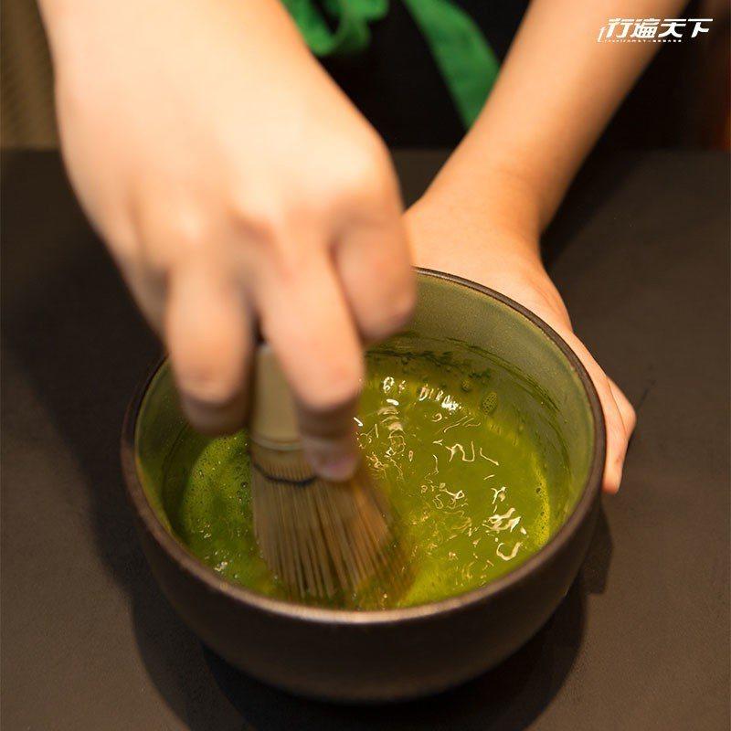 使用的抹茶為自家品牌梅之白。  攝影|行遍天下