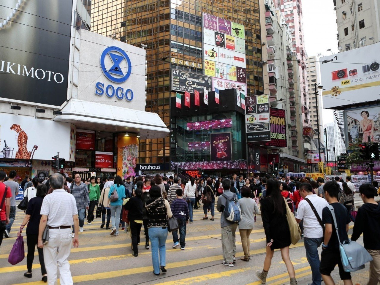 香港人對中國人身份認同,跌至4年新低。(新華社)