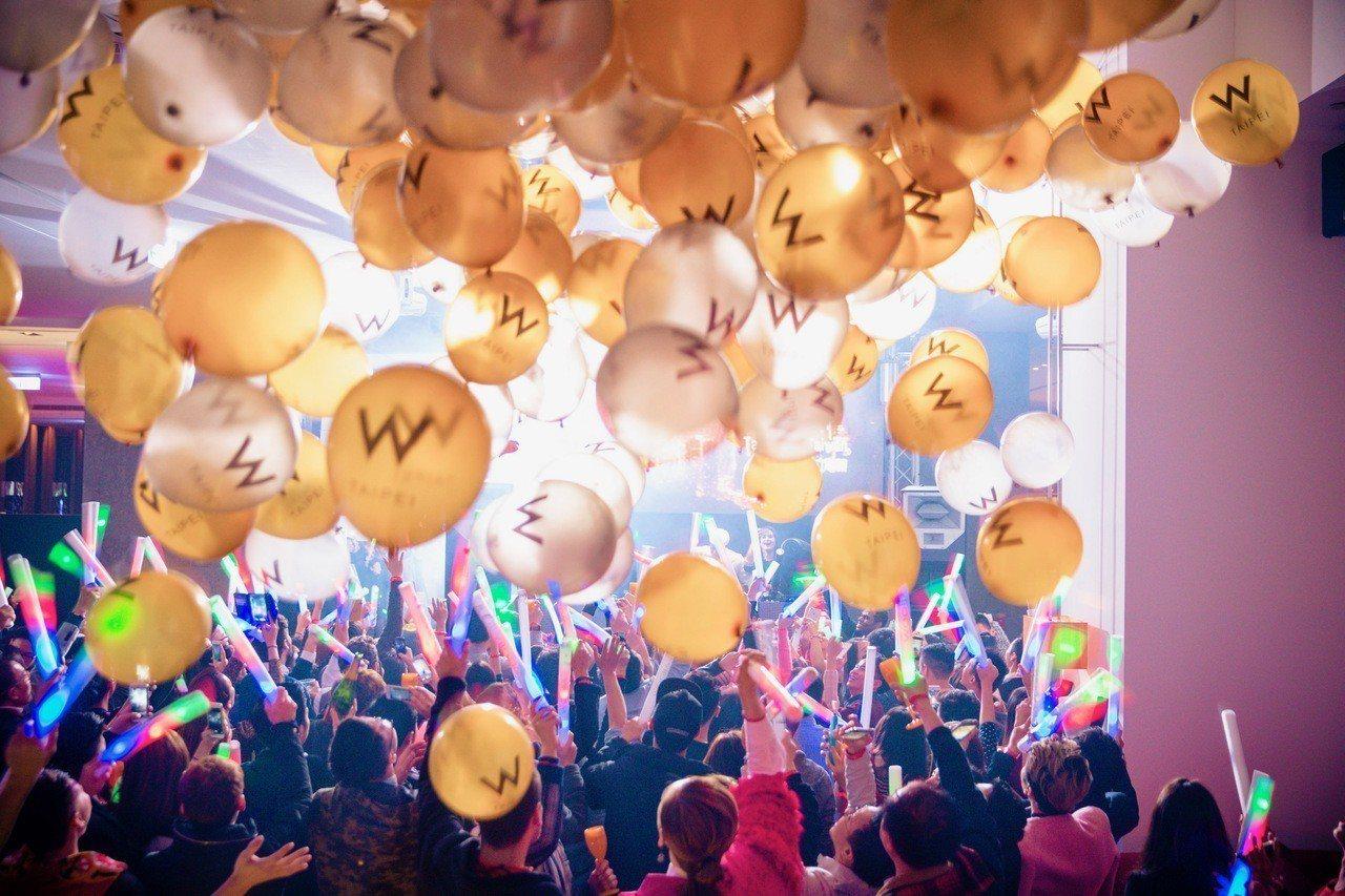 睽違兩年的跨年倒數派對「ITS A WRAP終年慶」強勢回歸!圖/台北W飯店提供