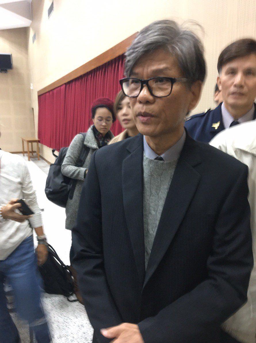 翁啟惠胞弟翁英惠。記者林孟潔/攝影