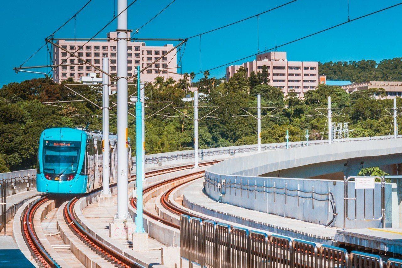 淡海輕軌已在日前開放民眾免費試乘。圖/新北捷運局提供