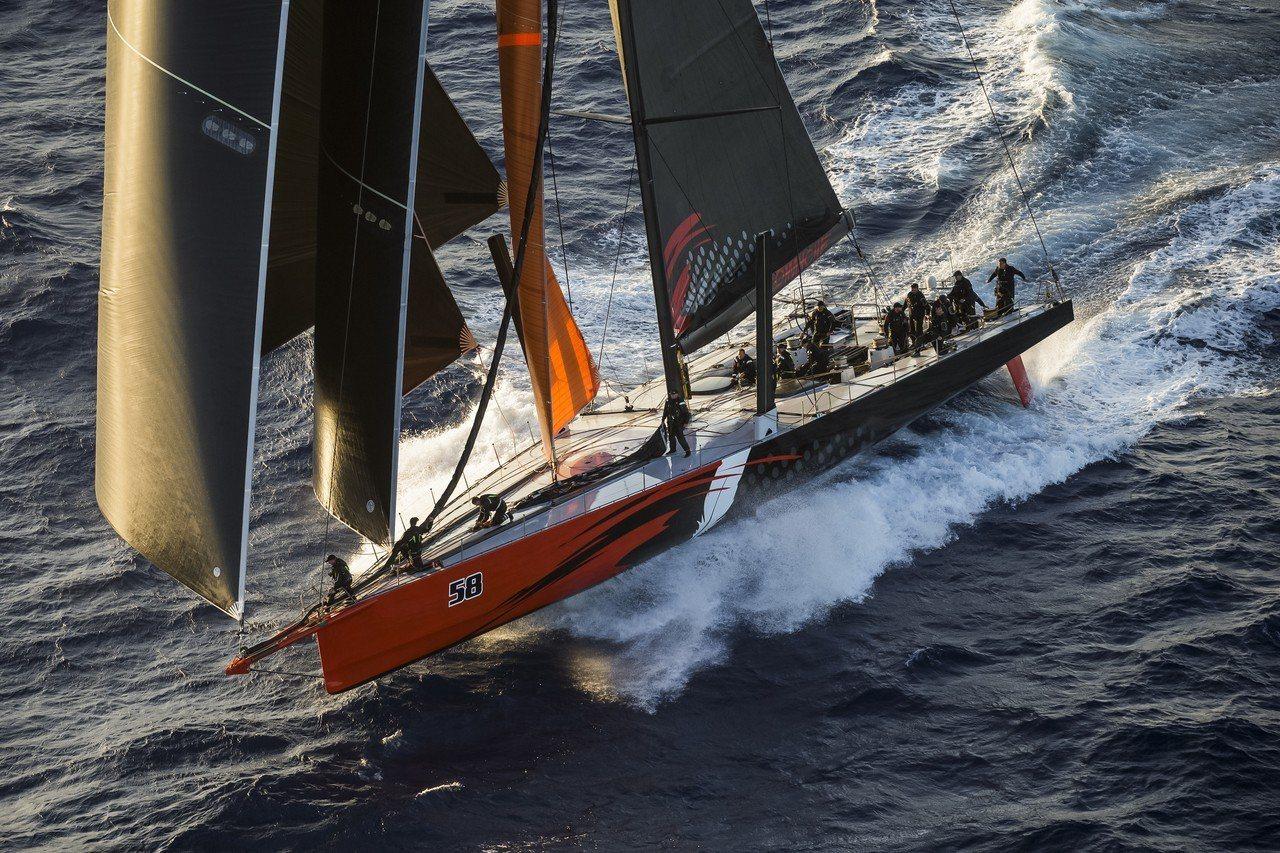 目前勞力士雪梨至霍巴特帆船賽的記錄由科曼奇號所創下。圖/勞力士提供