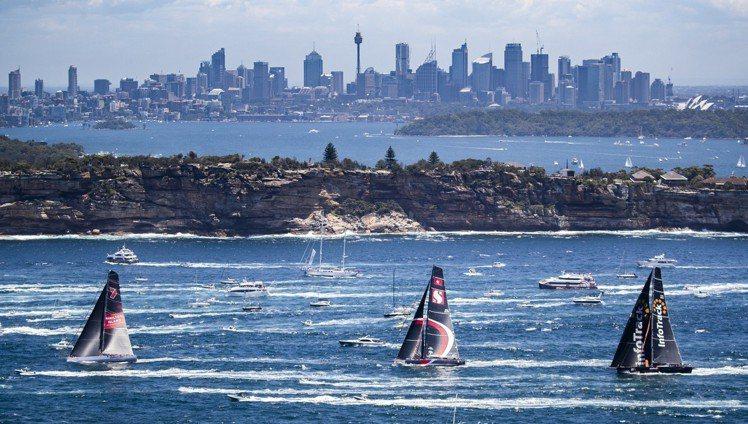 2018年的勞力士雪梨至霍巴特帆船賽已於26日開賽。圖/勞力士提供
