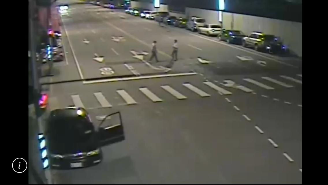 雙方在鳳福路上就發生第1次衝突,沒想到駕駛竟會用駕車衝撞的方式,企圖奪人性命。記...