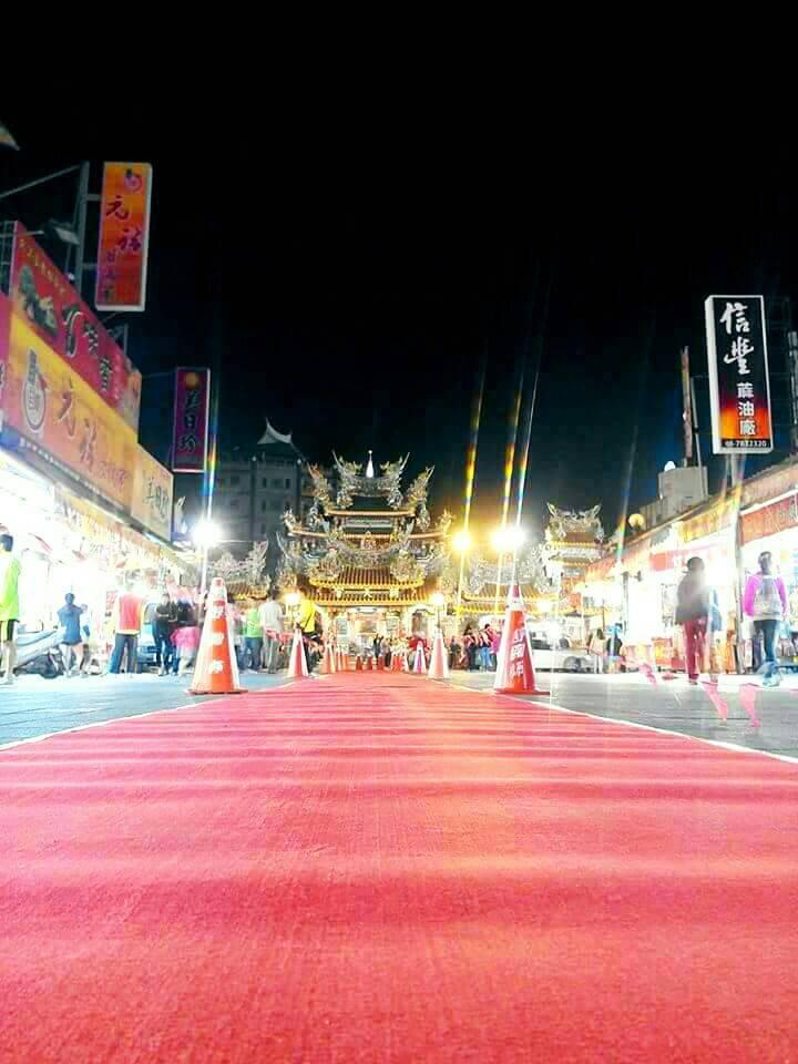 北港媽祖盃路跑即將登場,跑在廟前紅毯星光大道是跑者的最光榮一刻。記者蔡維斌/攝影