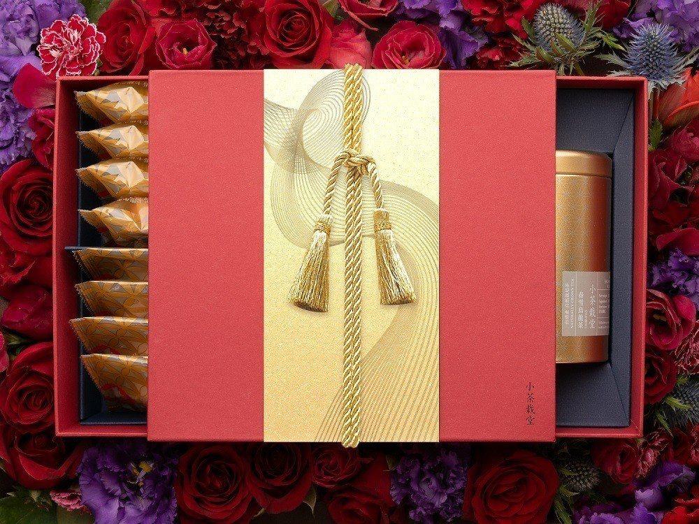 小茶紅禮盒,優惠價1,449元。圖/小茶栽堂提供
