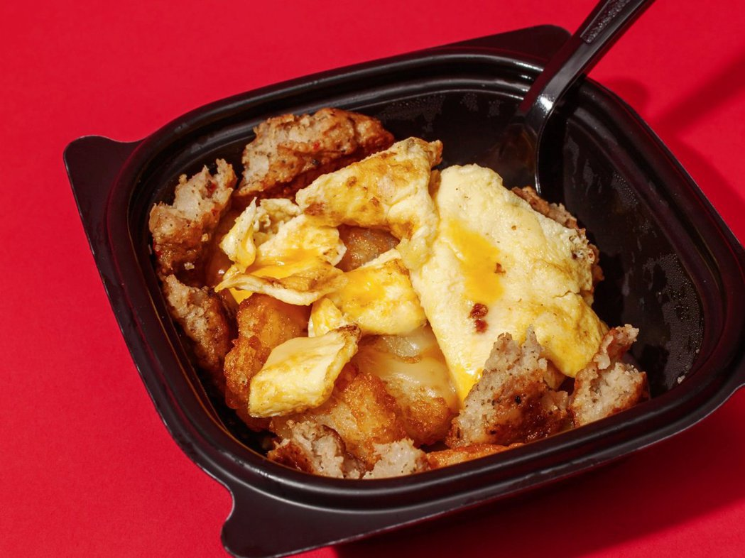 美國Chick-fil-A的早餐。 圖/摘自網路