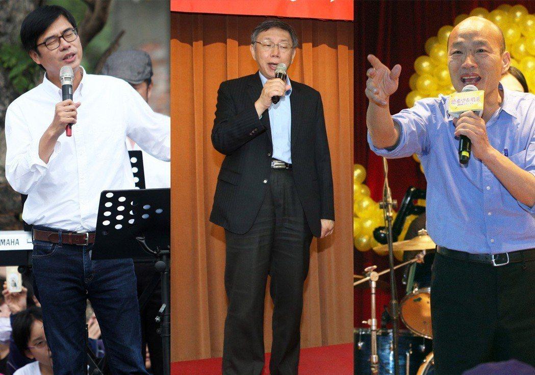 最近政治人物「流行」唱歌,不是在卡拉OK裡唱,是在大庭廣眾、對著支持者唱,不管歌...