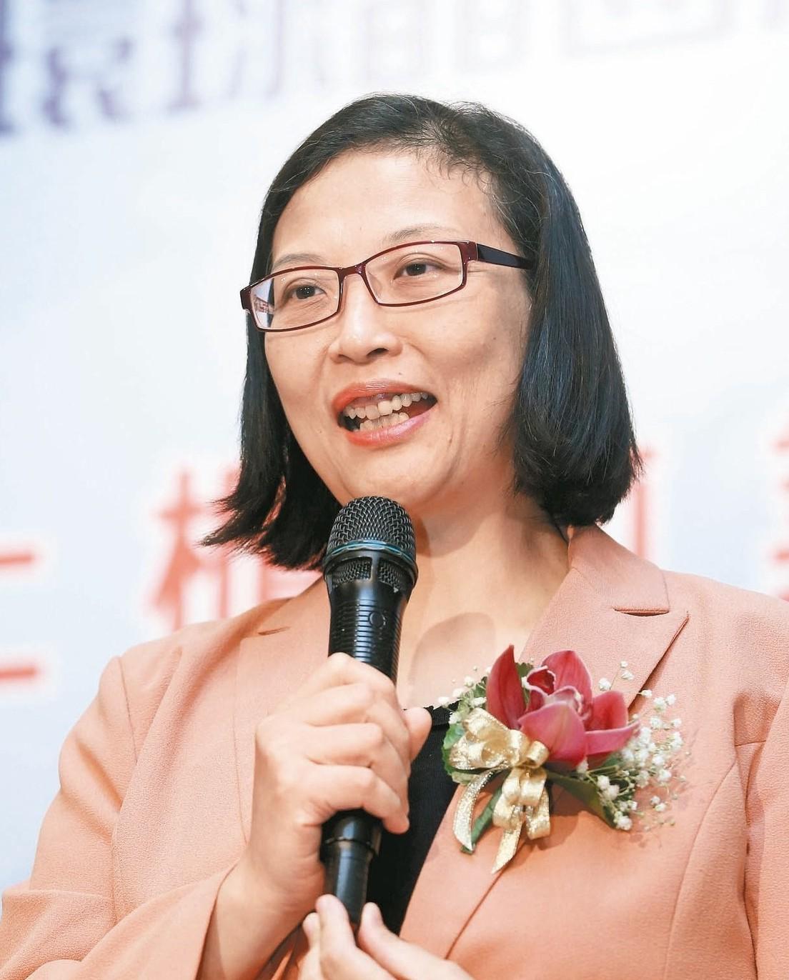 環球晶董事長徐秀蘭。 本報系資料庫